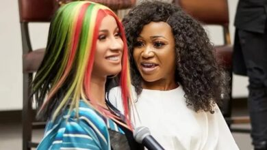 Photo of Cardi B Reacts To Her Twinnie, Akuapem Poloo's 90 Days Sentencing